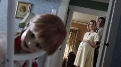 Annabelle Wallis and Ward Horton in Annabelle