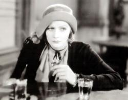Greta Garbo in Anna Christie.