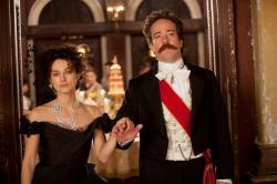 Keira Knightley and Matthew Macfadyen in Anna Karenina.