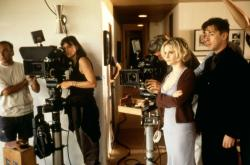 Jennifer Jason Leigh and Alan Cumming