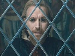 Rhys Ifans as Edward de Vere, the 17th Earl of Oxford in Anonymous.