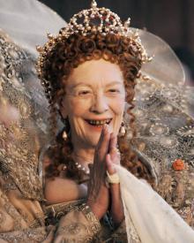Vanessa Redgrave as Queen Elizabeth I in Anonymous.