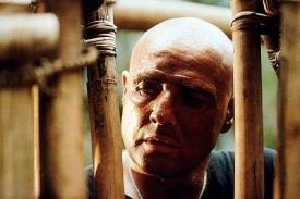 Marlon Brnado in Apocalypse Now.