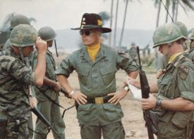 Robert Duvall loves the smell of naplam in the morning in Apocalypse Now.