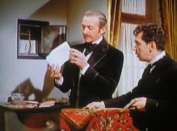 David Niven and Cantinflas in Around the World in 80 Days.
