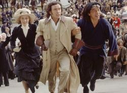 Cecile De France, Steve Coogan and Jackie Chan in Around the World in 80 Days.