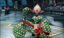 Ashley Jensen provides the voice of Bryony, the gift wrapping operative, in Arthur Christmas.