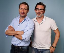 Jean Dujardin and Michel Hazanavicius