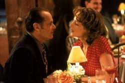 Jack Nicholson and Helen Hunt in As Good as it Gets.