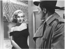 Marilyn Monroe as Angela, in The Asphalt Jungle.