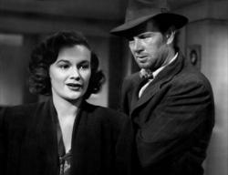 Jean Hagen and Sterling Hayden in The Asphalt Jungle.