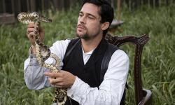 Brad Pitt in the long titled The Assassination of Jesse James by the Coward Robert Ford.