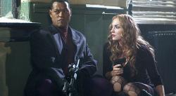 Laurence Fishburne and Drea de Matteo in Assault on Precinct 13.