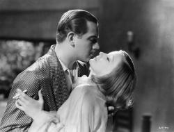 Melvyn Douglas and Greta Garbo in As You Desire Me.