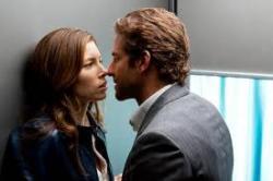 Jessica Biel and Bradley Cooper in The A-Team.