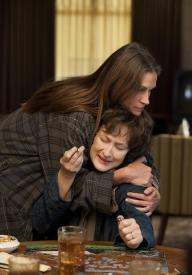 Julia Roberts and Meryl Streep in August: Osage County.