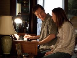 Benedict Cumberbatch and Julian Nicholson in August: Osage County