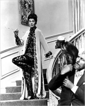 Rosalind Russell in Auntie Mame.