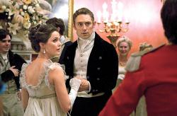 Kerri Russell and JJ Felid in Austenland