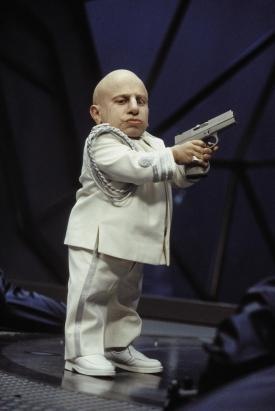 Verne Troyer as Mini-Me in Goldmember.