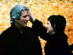 Richard Gere and Winona Ryder in Autumn in New York.