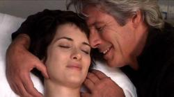 Winona Ryder and Richard Gere in Autumn in New York.