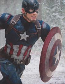 Chris Evans as Captain America in Avengers: Age of Ultron