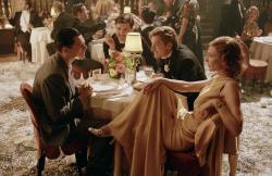 Leonardo DiCaprio, Jude Law and Cate Blanchett in The Aviator.