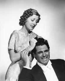 Irene Dunne and Cary Grant in The Awful Truth
