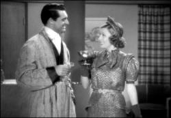 Cary Grant and Irene Dunne in The Awful Truth.