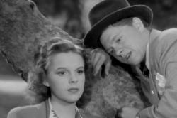 Judy Garland and Mickey Rooney in Babes in Arms.