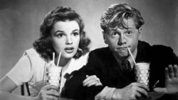 Judy Garland and Mickey Rooney in Babes on Broadway.