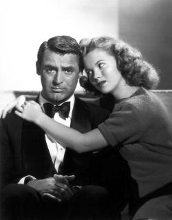 Cary Grant and Shirley Temple in The Bachelor and the Bobby-Soxer.