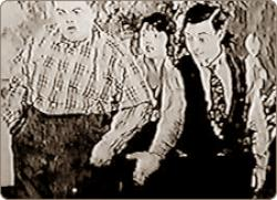 Buster Keaton and Fatty Arbuckle in Back Stage