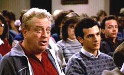 Rodney Dangerfield and Keith Gordon in Back to School