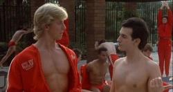 William Zabka and Keith Gordon in Back to School.  (Who wants to see another picture of Rodney Dangerfield?)