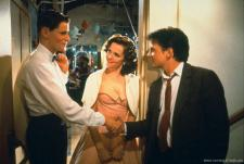 George, Lorraine and Marty McFly.