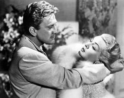 Kirk Douglas and Lana Turner in The Bad and the Beautiful.