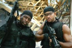 Martin Lawrence and Will Smith in Bad Boys II.