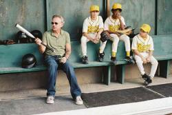 Billy Bob Thornton gives some batting tips in Bad News Bear.