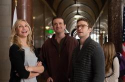 Cameron Diaz, Jason Segel and Justin Timberlake in Bad Teacher