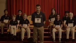 Jason Bateman and cast in Bad Words.