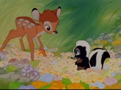 Bambi meets Flower.
