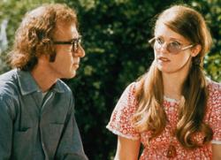 Woody Allen and Louise Lasser in Bananas.