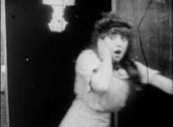 Mabel Normand in The Bangville Police.