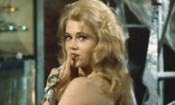 Jane Fonda in Barbarella.