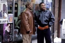 Ice Cube  and Anthony Anderson in Barbershop
