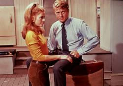 Jane Fonda and Robert Redford in Barefoot in the Park.