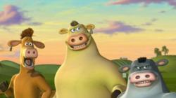 The animated animals of The Barnyard.