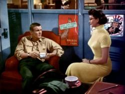 Tab Hunter and Dorothy Malone Battle Cry.